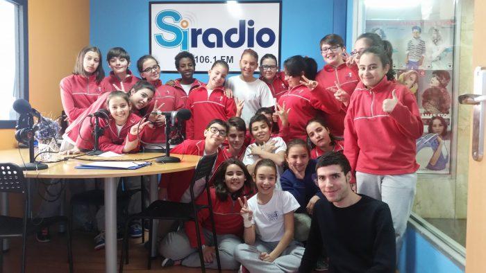 Estamos no aire! (Visita a Ourense Si Radio)