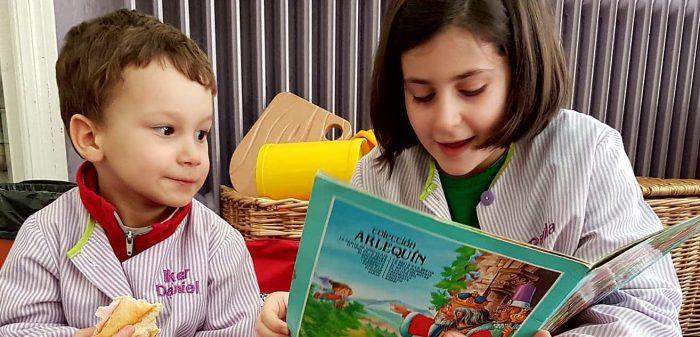 Pequenos e maiores lendo novos mundos