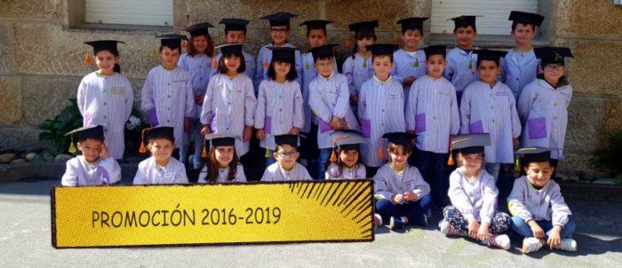 Paso a paso…hoxe damos un gran salto (Graduación Infantil 2019)