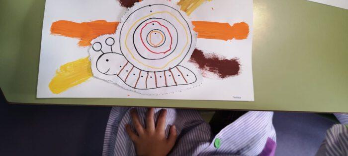 Grafismos de outono (5º infantil)