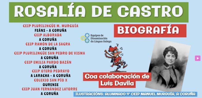 Recursos para traballar o Día de Rosalía (2021)