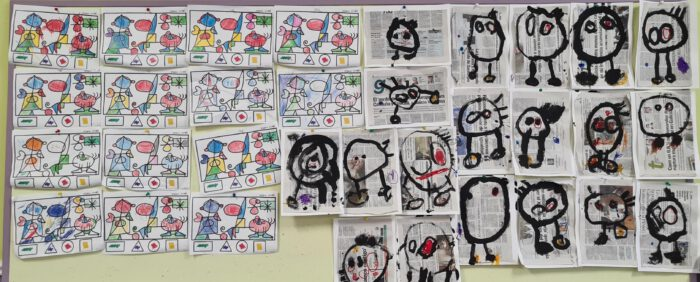 Aprendendo con arte (4º infantil)